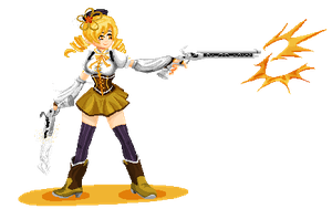 Mami Pixel Tiro Finale by trevic