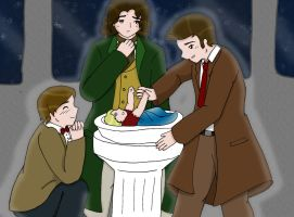 Three Doctors and a Baby -for Tokiogirl21- by YamanakaAngel