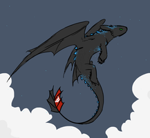 Alpha Toothless by arctic-lights