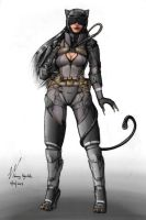 Catwoman 1 by Shraznar