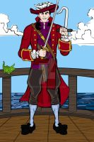 Heromachine: Young James Hook by ARTIST-SRF
