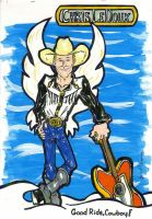 The Great CHRIS LEDOUX by CManArt1
