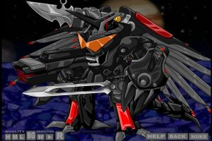 Mecha Wing Breaker Lord V.1 by Thaeonblade