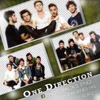 Photopack Png One Direction by stephanyad