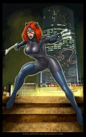 Feral Kat by John Becaro by katfood25