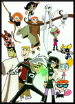 Some Favorite Cartoon Heroes by HumanStick