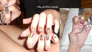 The Hobbit Nails by subjectdelta1964