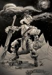 The Great Gonzo The Barbarian! by cartoonistaaron