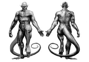 Kerberos Productions: Tarka Anatomy by TwoDD