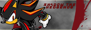 Shadow The Hedgehog Signature by Dingo-Sniper
