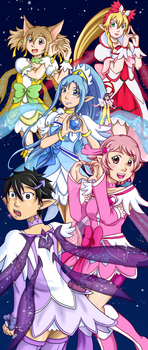 Fairy Dance Precure [SAO x DokiDoki] by Jitsch