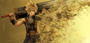 Cloud Strife by supersonic-unicorn