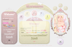CYL03 - Exclusive - So Cute! Layouts by MokuImvu