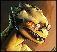 Alphys by BelieveTheHorror
