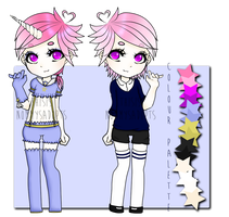 unicorn magical boy adopt { sold oops } by nyoomy