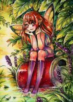 aceo chilltime by MIAOWx3
