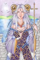 the high priestess by everlasting-pain