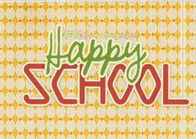(ScrapClass) Lesson 1: Happy School!!! -EliKwon- by ChickenSchool
