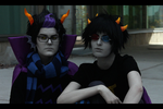 HOMESTUCK: Glare by PrinceKarakuri