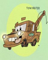 Pixar Madness Month - Day 3 - Tow Mater by tyrannus