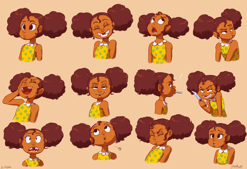 Clementine Expressions by Mataknight