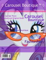 Carousel Bountique Magazine Cover by UnicornRarity