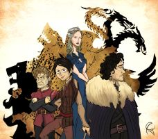 Game of Thrones by Guinicius