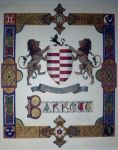 Barrett coat of arms,Ireland by calligraphyartworks
