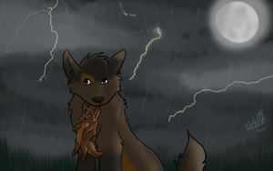 The Storm. by BlaideBlack