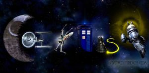 COEXIST -- Awesome Sci-Fi Version by bnsa
