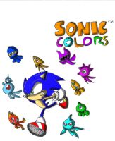 Sonic Colors by Junka-speed