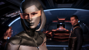 Mass Effect 3 EDI by orbituated