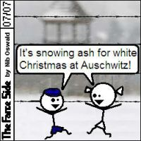 Christmas at Auschwitz by niboswald