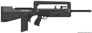 FAMAS F1 by Northern-Dash