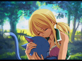 Fairy Tail: Lucy and Happy by Blazing-Wizard