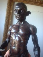 merman bronze by Sleetwealth