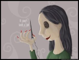 Come on Coraline... by crimson-crest