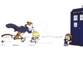 Calvin and Whobbes by one-of-the-nobodies
