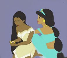 Disney princesses by Sarunfunfeyer