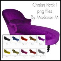 Chaise Lounge Pack I by MadameM-stock