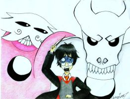 Harry Potter + Deathly Hollows by usagi101