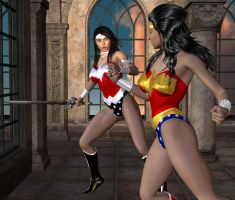 War of the Amazons! by kevmann