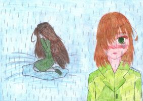 aph: Stand in the rain... by LoveEmerald