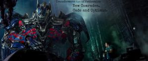 Optimus and Cade by Angelgirl10