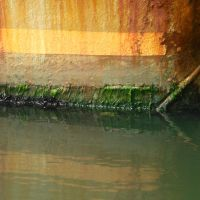 Square Rust Water by Designdivala