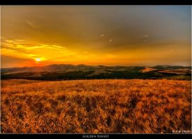 Golden Sunset by Marcello-Paoli