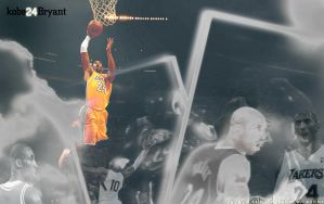 KObe Bryant widescreen wall by IshaanMishra