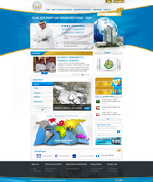 Islamic bank website by REDFLOOD