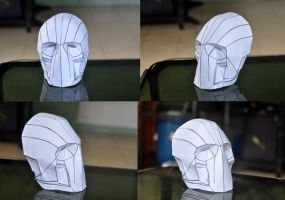 Army of Two Mask - Stage 01 by zeronemike