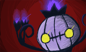 Chandelure by golden-3point14